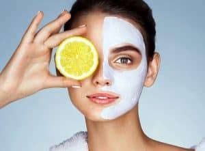 Zitronenöl für die Haut